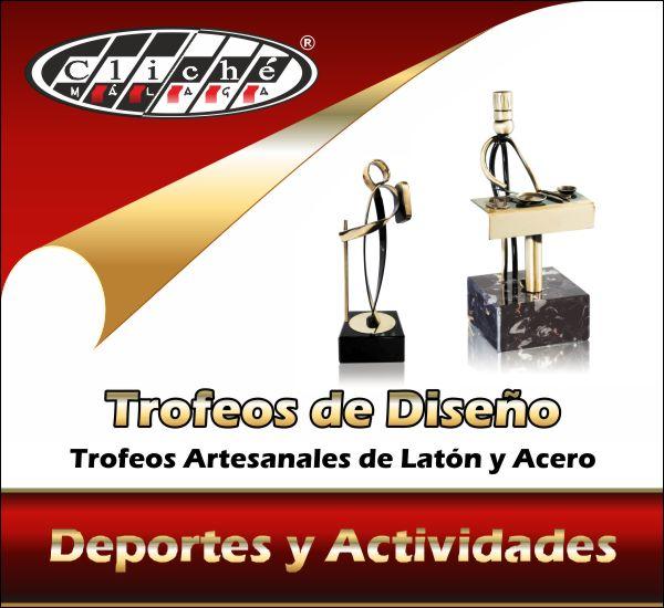 Trofeos de diseño artesanales