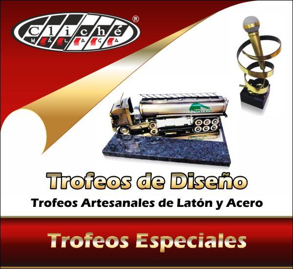 Trofeos Especiales Artesanales de Diseño