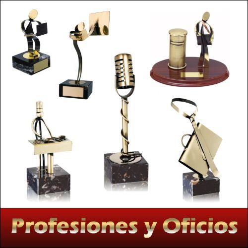Trofeos de profesiones y oficios